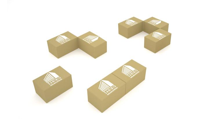 SANIBIO® agencement de votre bloc sanitaire modulaire