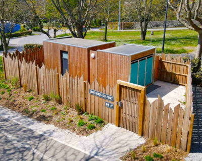 SANIBIO® Bloc sanitaire modulaire, sanitaire public