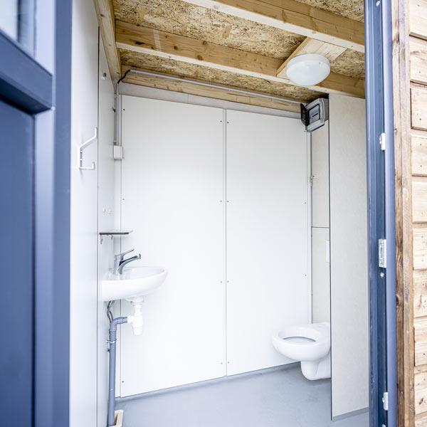 SANIBIO® L1 bloc sanitaire, sanitaire modulaire
