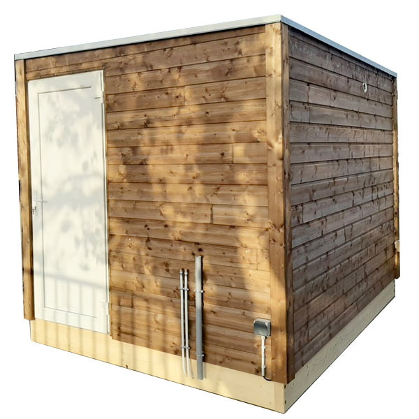 SANIBIO® L2 bloc sanitaire, sanitaire modulaire