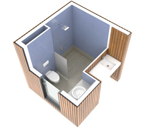SANIBIO® gamme INDIVIDUEL ECOLODGE sanitaire modulaire