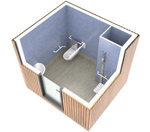 SANIBIO® gamme PMR sanitaire modulaire