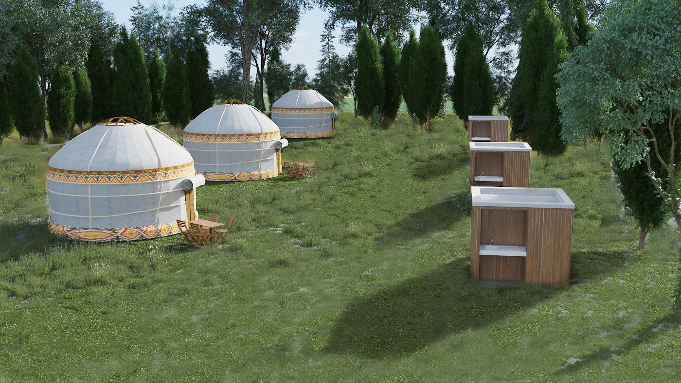 SANIBIO® solution pour les extensions de camping sanitaire modulaire