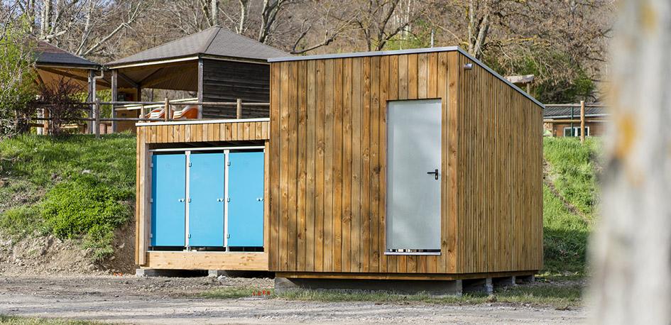 SANIBIO® sanitaire modulaire esthétique dans son agencement