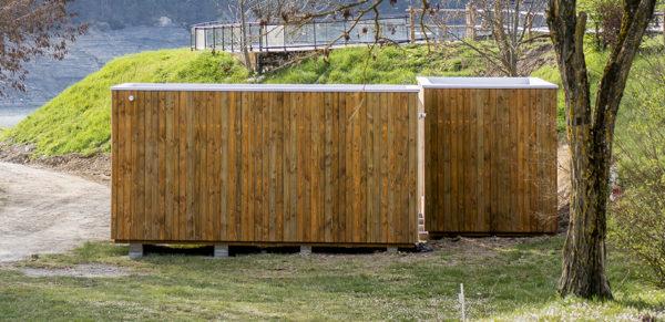 SANIBIO® sanitaire modulaire esthétique dans son environnement