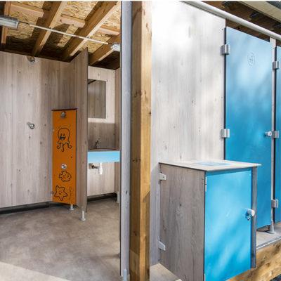 SANIBIO® sanitaire modulaire esthétique par ses équipements
