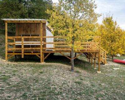 SANIBIO® Bloc sanitaire modulaire, sanitaire pour camping