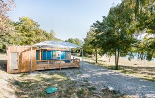 SANIBIO® Bloc sanitaire modulaire, sanitaire pour camping pour zone complexe