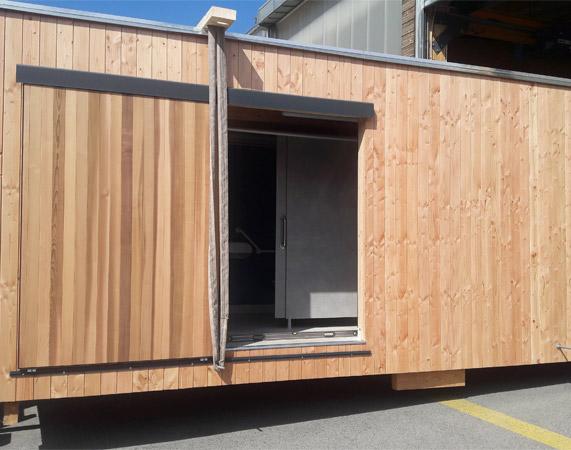 SANIBIO® votre projet bloc sanitaire en construction la sortie d'usine